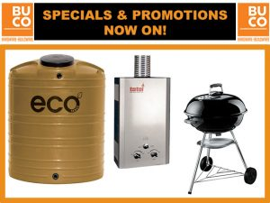 Great Specials and Promotions at BUCO George this August