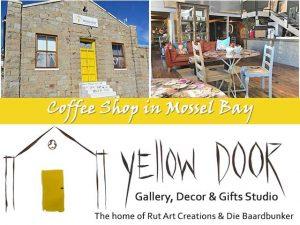 Coffee Shop at Yellow Door Gallery Mossel Bay