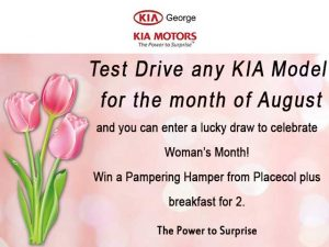 Lucky Draw for Woman's Month KIA Motors George