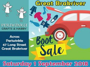 Great Brakriver Boot Sale September 2018