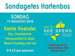 Sondagetes in Hartenbos