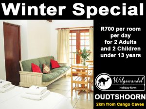 Oudtshoorn Winter Accommodation Special