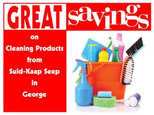 Great Savings on Cleaning Products in George