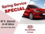 KIA Spring Service Special George