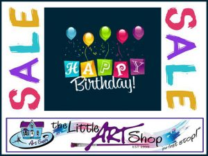 The Little Art Shop Birthday Sale is Now on in George