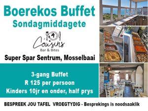 Boerekos Buffet Sondagmiddagetes Mosselbaai