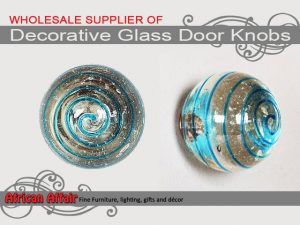 Supplier of Decorative Glass Door Knobs in South Africa