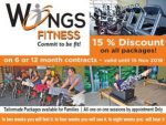 15% Discount at Fitness Studio Mossel Bay