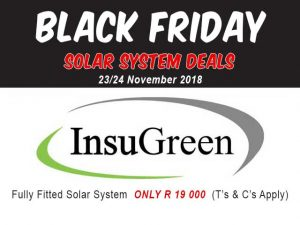 Black Friday Solar System Deals Mossel Bay