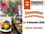 Desember Sondagmiddagetes Vleesbaai Mosselbaai