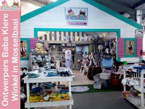 Ontwerpers Baba Klere Winkel in Mosselbaai