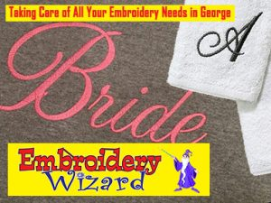 Corporate and Personalized Embroidery in George