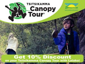 Discount on Tsitsikamma Canopy Tours