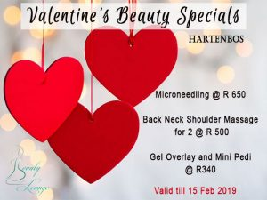 Valentine's Beauty Specials Hartenbos