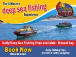 March Holidays Deep Sea Fishing in Mossel Bay