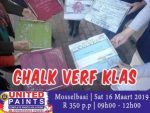 Chalk Verf Klasse by United Paints Mosselbaai