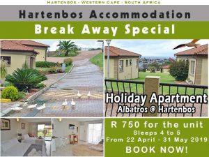 Accommodation Break Away Special Hartenbos