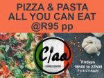 All You Can Eat Pizza and Pasta Special in George