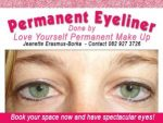 Professional Permanent Eyeliner in Hartenbos