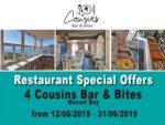 Mossel Bay Restaurant Specials June 2019