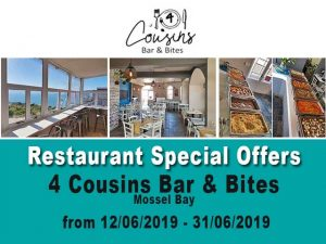 Mossel Bay Restaurant Specials June 2019