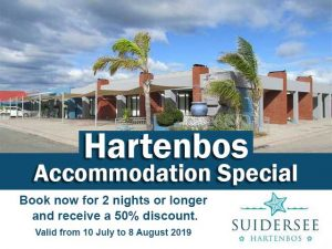 50% Discount on Hartenbos Accommodation