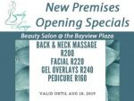 Opening Beauty Specials Hartenbos