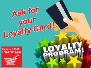 Join the Loyalty Card System at Geneva Pharmacy in George