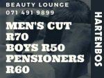 Men's Hair Cuts Hartenbos