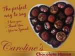 Handmade Artisan Chocolates in Wilderness, The Perfect Gift