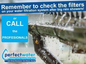 Water Filtration System Filters in George