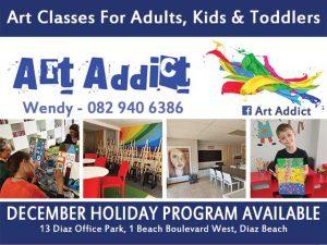 Art Addict December Holiday Program Mossel Bay