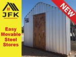 Easy Movable Steel Stores Now Available in the Garden Route