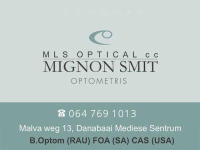 Optometrist in Dana Bay Mossel Bay