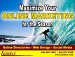 Maximize Your Online Marketing Presence for the Season
