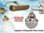 Supplier of Exquisite Wall Lamps in South Africa