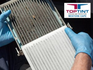 Replacing Car Air Conditioner Filters in George