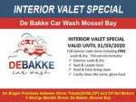 Car Wash Interior Valet Special Mossel Bay