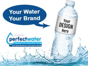 Personalized Water with Your Brand