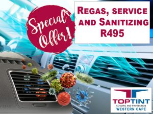 Auto Regas and Sanitizing Special in George