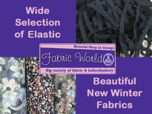 New Winter Stock Available at Fabric World in George
