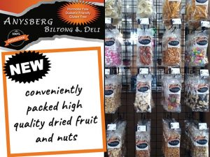 Quality Dried Fruit and Nuts from Anysberg in George