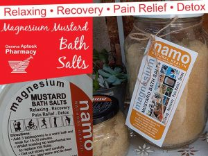 Magnesium Mustard Bath Salts Now Available in George