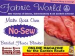Fabric World No-Sew Braided Fleece Blanket
