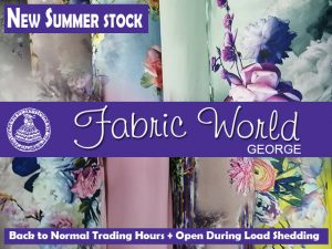 New Summer 2020 Stock at Fabric World George