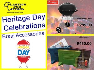 Braai Accessories From Plastics for Africa in George