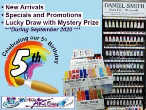 The Little Art Shop 5th Birthday Celebrations