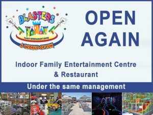 Blasters Centre is open again!