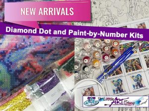 New Diamond Dot and Paint-by-Number Kits in George