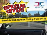 October Special on Automotive Window Tinting in George